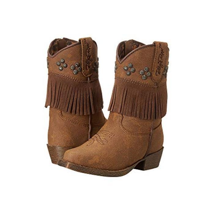 ウェスタン 茶 ブラウン M&F ベビー 赤ちゃん用 ベビー服 靴 【 WESTERN KIDS ANNABELLE TODDLER BROWN 】