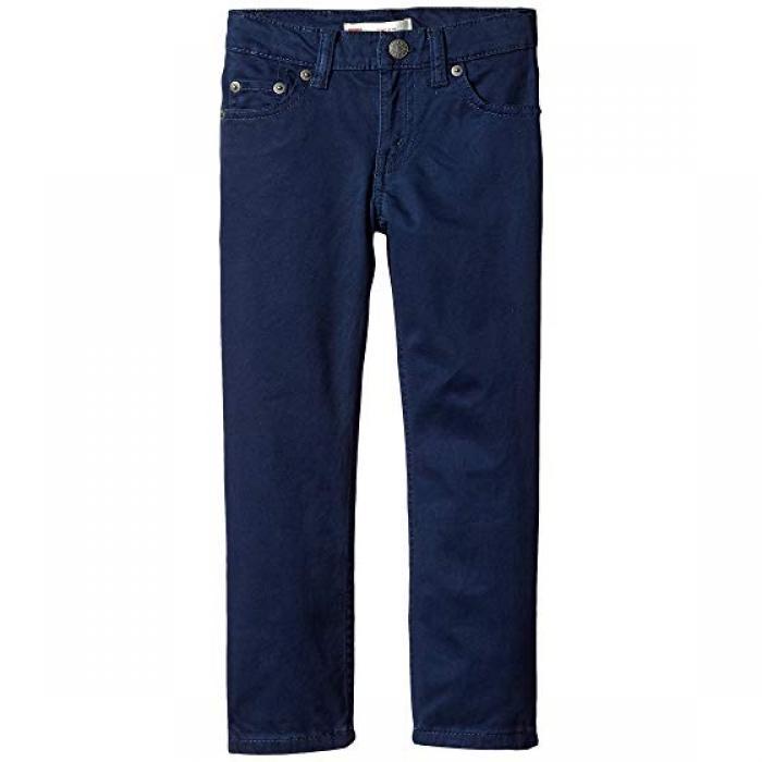 パンツ ドレス ワンピース ブルース LEVI'S 511 子供用 リトルキッズ マタニティ 【 KIDS SUEDED PANTS DRESS BLUES 】