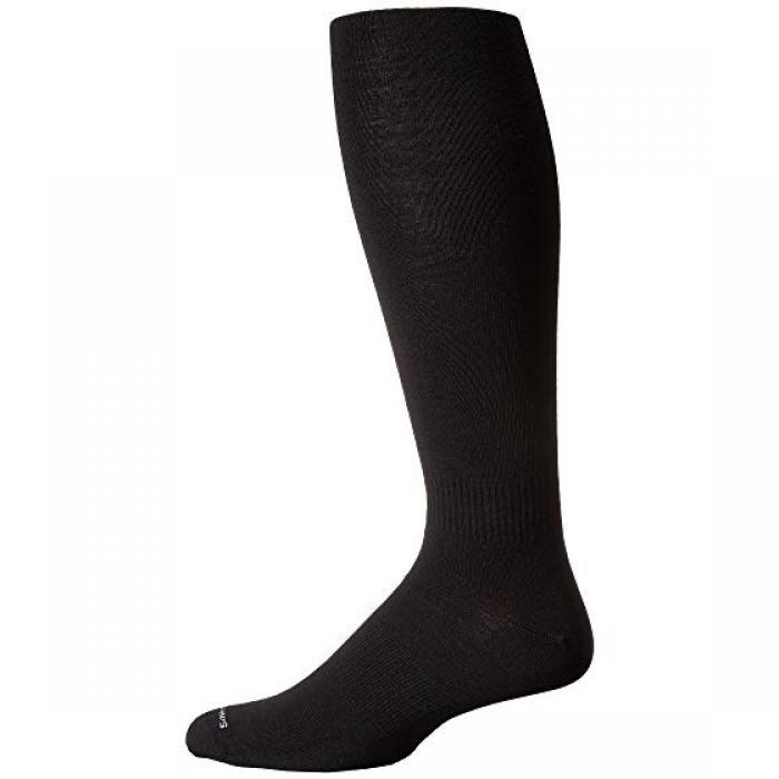 ブーツ ソック 黒 ブラック レディース 女性用 【 BLACK SMARTWOOL BOOT SOCK OVERTHECALF 】