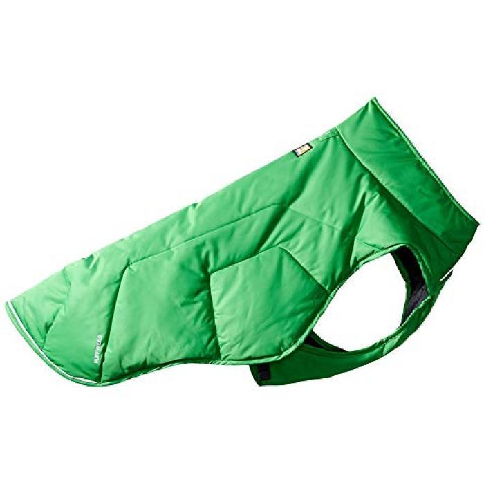 【エントリーで全商品ポイント10倍1/9 20:00-1/16 01:59迄】ジャケット メドウ 緑 グリーン ペット 【 GREEN RUFFWEAR QUINZEE INSULATED JACKET 0 MEADOW 】