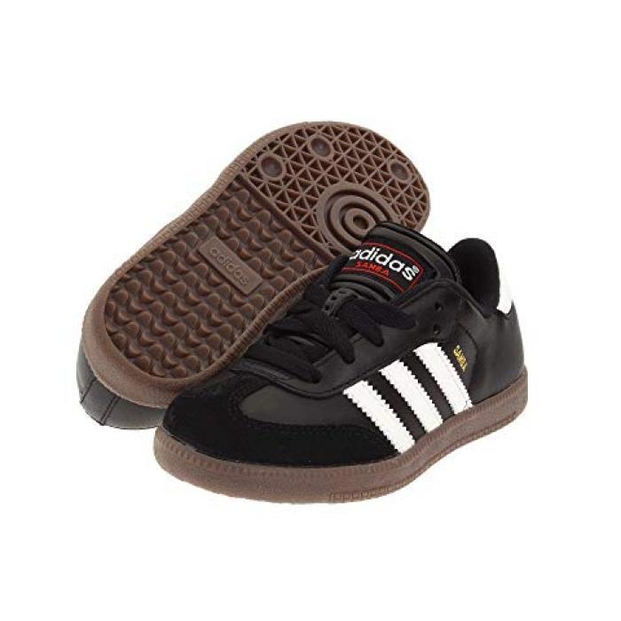 アディダス クラシック コア 白 ホワイト SAMBA 子供用 ビッグキッズ スニーカー 靴 【 ADIDAS KIDS CLASSIC CORE TODDLER BLACK RUNNING WHITE 】