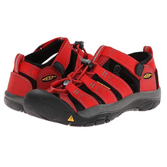 ニューポート 赤 レッド 子供用 リトルキッズ 靴 マタニティ 【 KEEN KIDS NEWPORT H2 FIREY RED 】