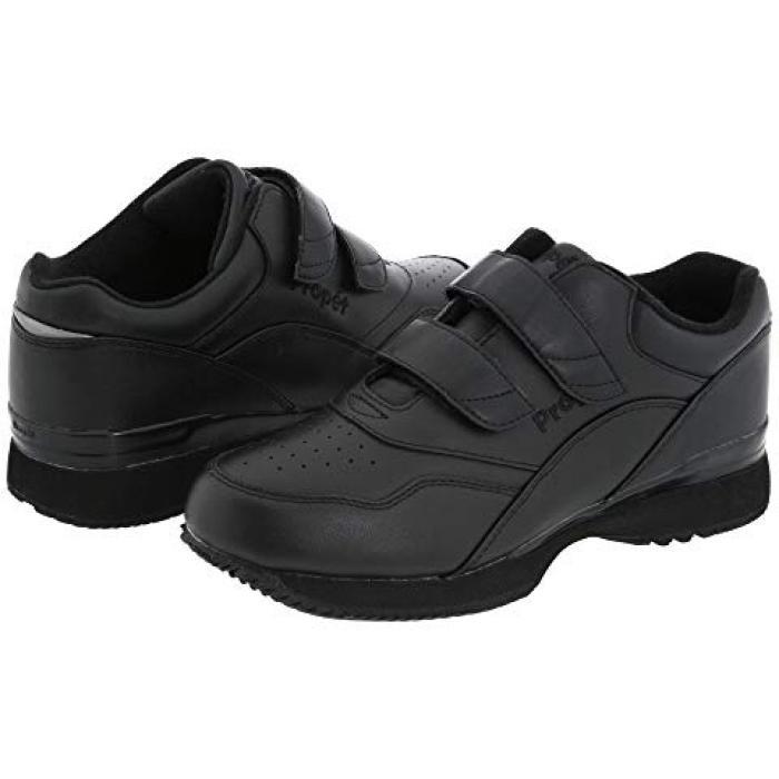 ツアー ウォーカー コード 靴 黒 ブラック = メンズ 男性用 メンズ靴 【 BLACK PROPET TOUR WALKER MEDICARE HCPCS CODE A5500 DIABETIC SHOE 】