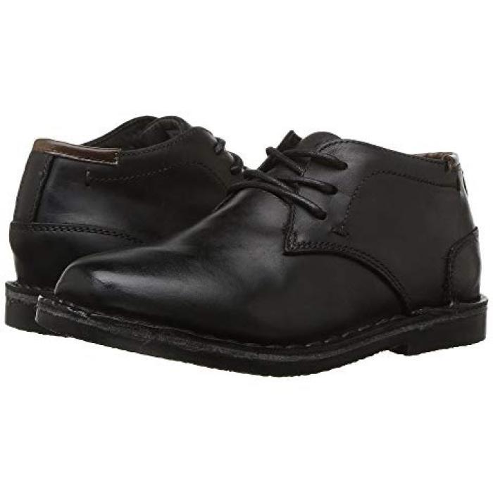【エントリーで全商品ポイント10倍1/9 20:00-1/16 01:59迄】コール リアル ディール 黒 ブラック レザー 子供用 リトルキッズ 靴 マタニティ 【 BLACK KENNETH COLE REACTION KIDS REAL DEAL LEATHER 】