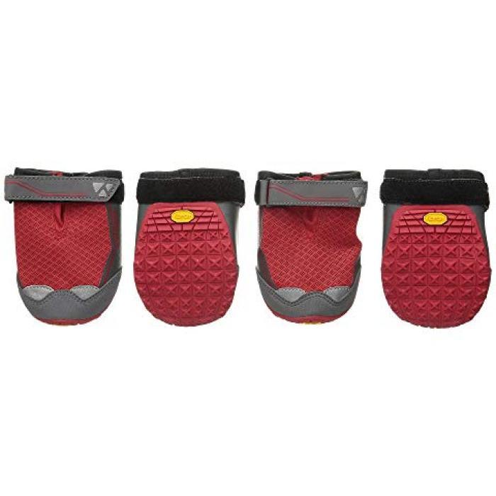 【エントリーで全商品ポイント10倍1/9 20:00-1/16 01:59迄】グリップ ブーツ 赤 レッド ペット 【 RUFFWEAR GRIP TREX BOOTS 0 RED CURRANT 】