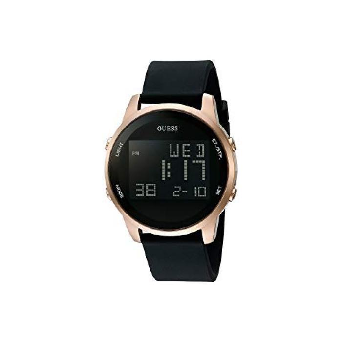 ゲス 黒 ブラック メンズ 男性用 メンズ腕時計 腕時計 【 BLACK GUESS U0787G1 】