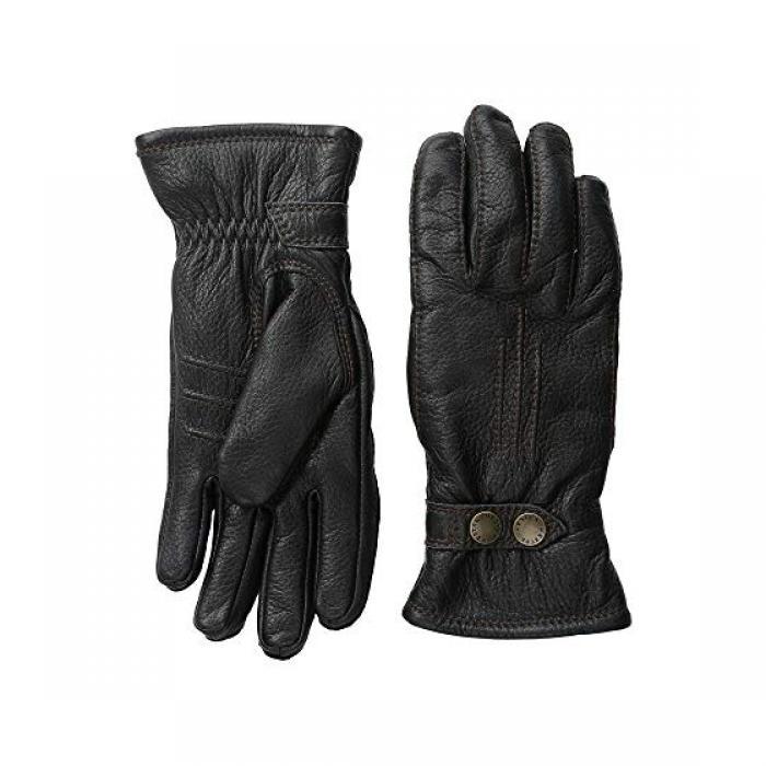 黒 ブラック メンズ 男性用 メンズ手袋 手袋 【 BLACK HESTRA TALLBERG 】
