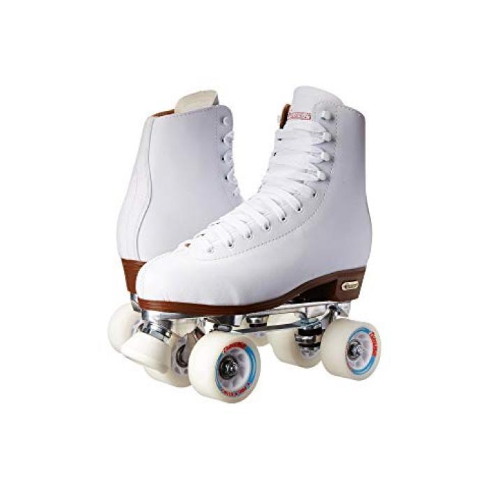 シカゴ スケート レディース 女性用 インラインスケート スポーツ 【 SKATE CHICAGO SKATES PRECISION RINK WHITE CREAM 】