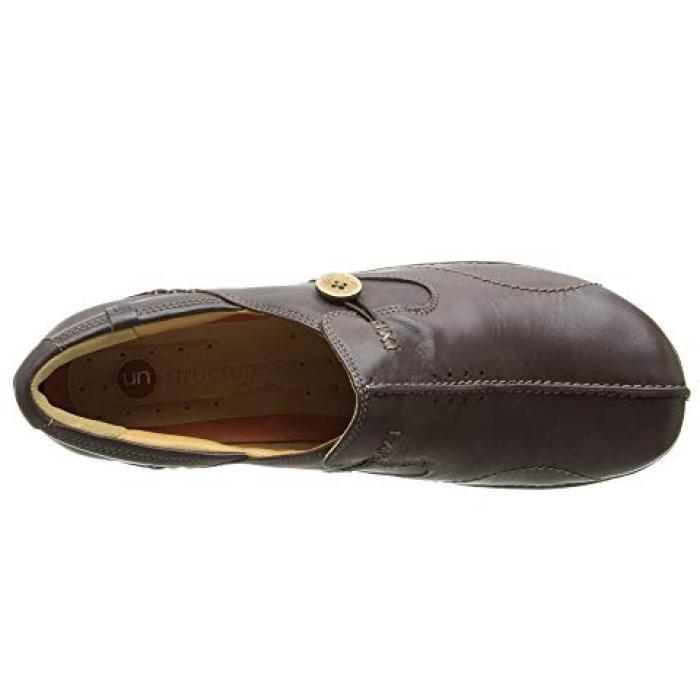 クラークス ダーク 茶 ブラウン レザー UN.LOOP レディース 女性用 レディース靴 ローファー 【 CLARKS DARK BROWN LEATHER 】