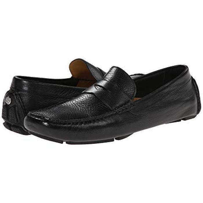 コール ペニー 黒 ブラック メンズ 男性用 靴 メンズ靴 【 BLACK COLE HAAN HOWLAND PENNY TUMBLED 】