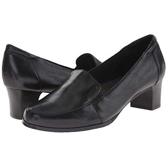 グロリア 黒 ブラック レザー ビッグキッズ 子供用 靴 ベビー 【 BLACK TROTTERS GLORIA LEATHER 】