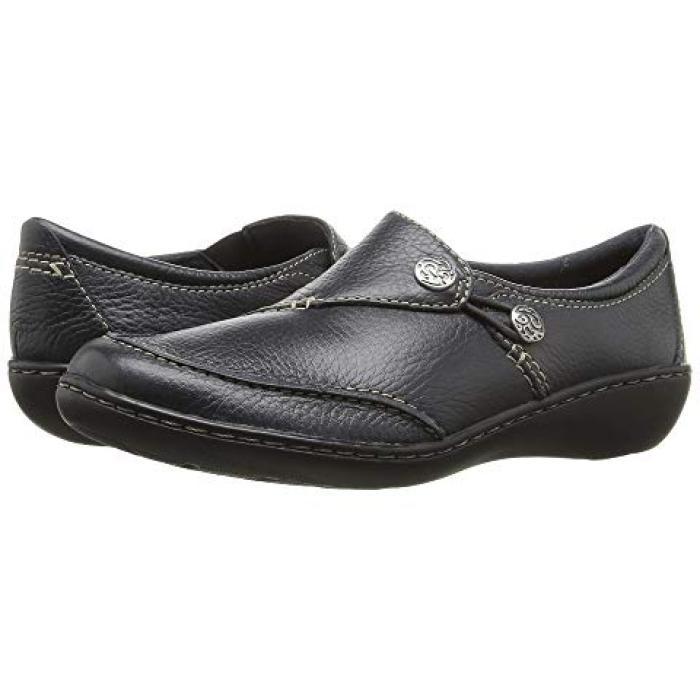 クラークス アッシュランド キュー 紺 ネイビー レディース 女性用 靴 レディース靴 【 NAVY CLARKS ASHLAND LANE Q 】