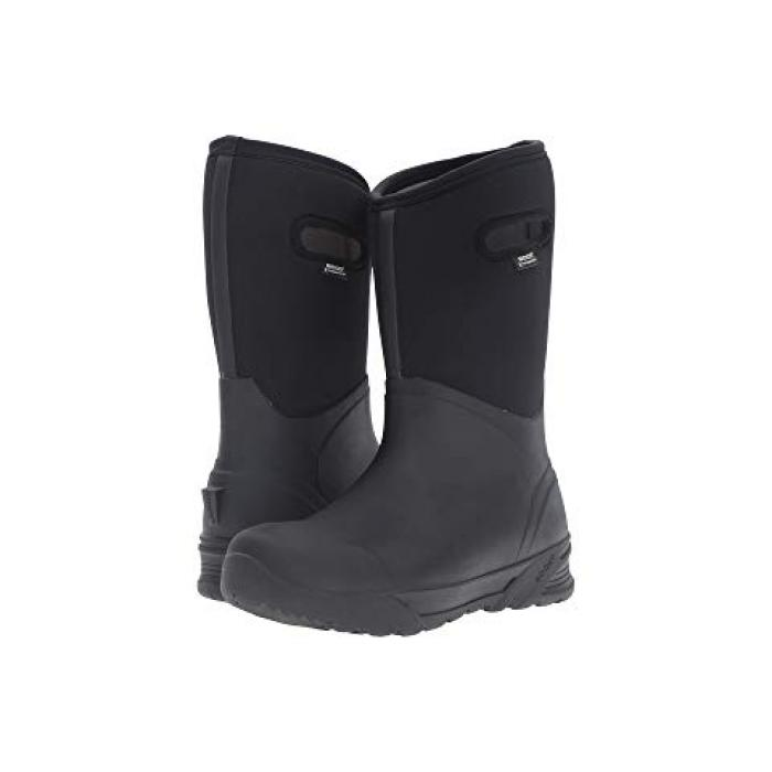 トール ブーツ 黒 ブラック メンズ 男性用 靴 メンズ靴 【 BLACK BOGS BOZEMAN TALL BOOT 】