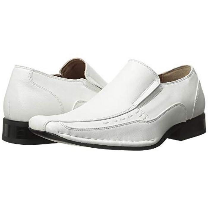【エントリーで全商品ポイント10倍1/9 20:00-1/16 01:59迄】アダムス 白 ホワイト 子供用 リトルキッズ キッズ フォーマル靴 【 STACY ADAMS KIDS TEMPLIN WHITE 】