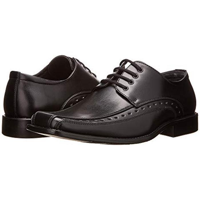 【エントリーで全商品ポイント10倍1/9 20:00-1/16 01:59迄】アダムス 黒 ブラック 子供用 リトルキッズ フォーマル靴 マタニティ 【 BLACK STACY ADAMS KIDS DEMILL 】
