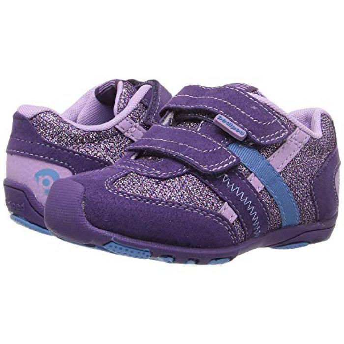 【エントリーで全商品ポイント10倍1/9 20:00-1/16 01:59迄】紫 パープル リリー 子供用 ビッグキッズ 靴 スニーカー 【 PURPLE PEDIPED GEHRIG FLEX TODDLER LILY 】