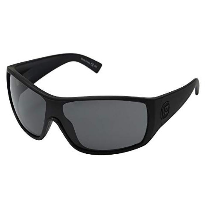 黒 ブラック メンズ 男性用 眼鏡 サングラス 【 BLACK VONZIPPER BERSERKER SATIN GREY 】