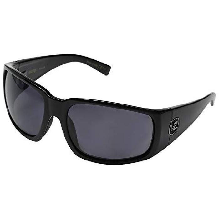 黒 ブラック GRAY灰色 グレイ メンズ 男性用 ブランド雑貨 眼鏡 【 BLACK GREY VONZIPPER PALOOKA POLARIZED GLOSS VINTAGE WILDLIFE 】