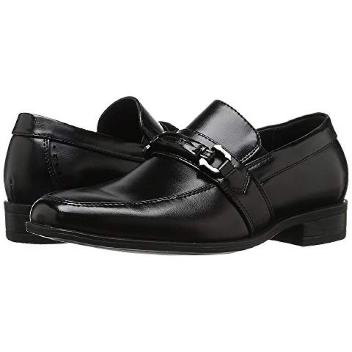【エントリーで全商品ポイント10倍1/9 20:00-1/16 01:59迄】アダムス 黒 ブラック 子供用 リトルキッズ フォーマル靴 マタニティ 【 BLACK STACY ADAMS KIDS SELBY 】