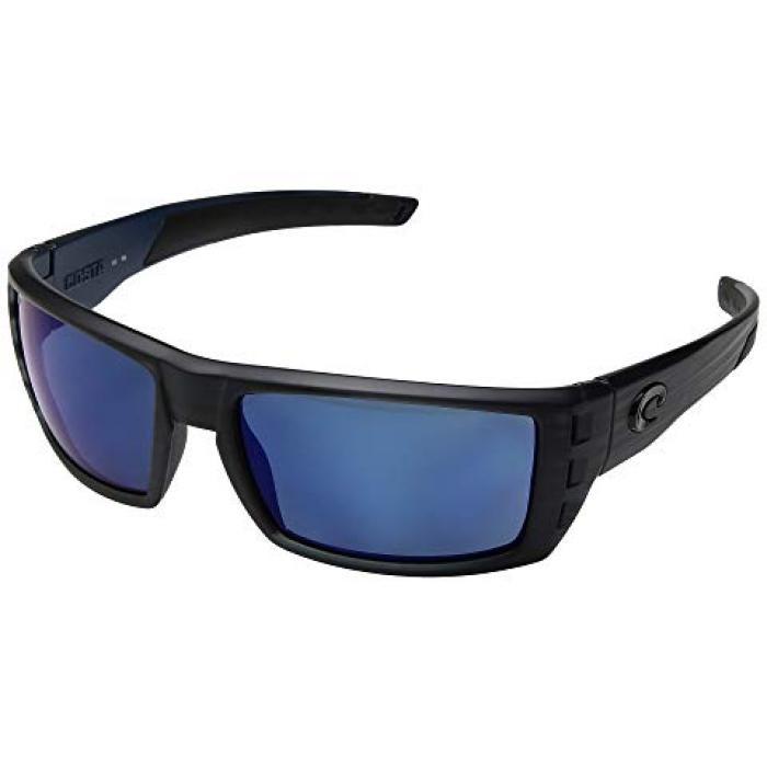 黒 ブラック チーク ミラー メンズ 男性用 バッグ 眼鏡 【 BLACK COSTA RAFAEL TEAK FRAME BLUE MIRROR 580P 】