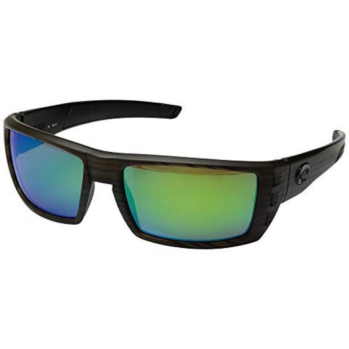 オリーブ チーク ミラー メンズ 男性用 小物 眼鏡 【 OLIVE COSTA RAFAEL TEAK FRAME GREEN MIRROR 580P 】