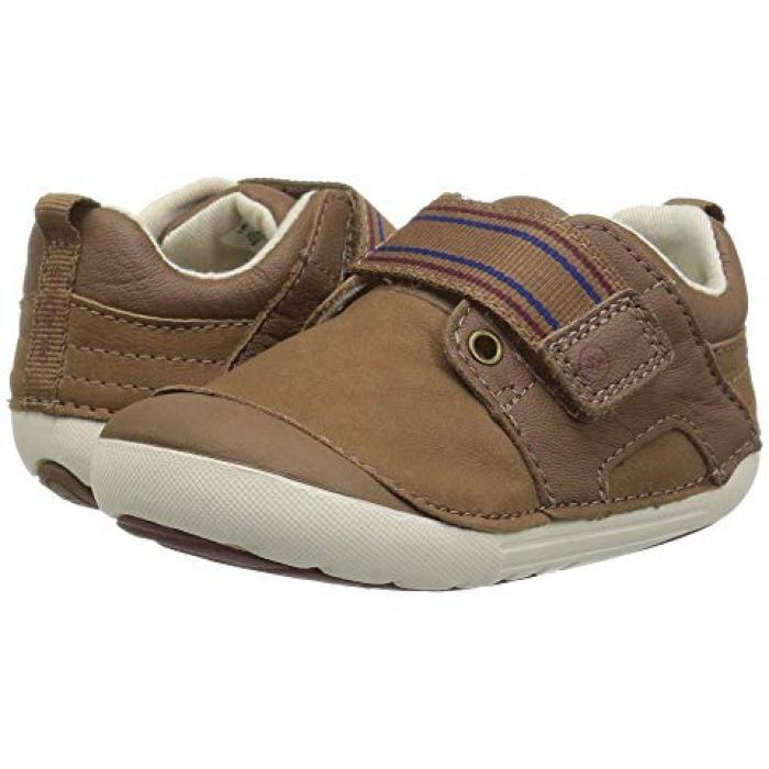 茶 ブラウン ベビー 赤ちゃん用 キッズ 靴 【 STRIDE RITE SM CAMERON INFANT TODDLER BROWN 】