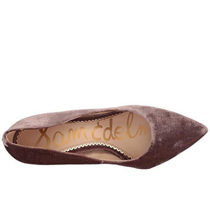 サム エデルマン ミンク シャドー シャドウ シルキー ベルベット レディース 女性用 靴 レディース靴 【 SAM EDELMAN HAZEL MINK SHADOW SILKY VELVET 】