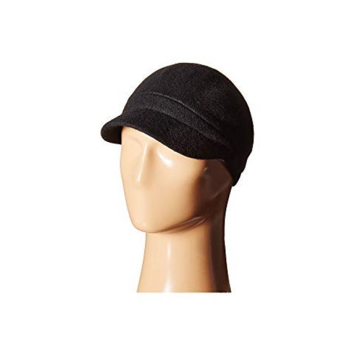 ラインストーン キャップ 帽子 黒 ブラック レディース 女性用 バッグ ブランド雑貨 【 BLACK BETMAR RHINESTONE CAP 】