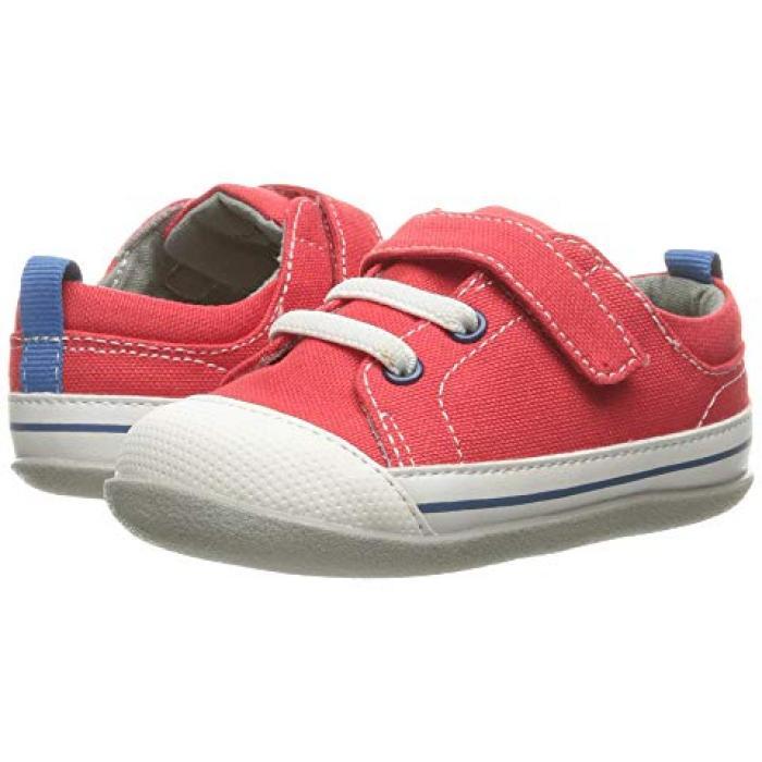 【エントリーで全商品ポイント10倍1/9 20:00-1/16 01:59迄】シー カイ ラン スティービー 赤 レッド キャンバス ベビー 赤ちゃん用 ファッション 靴 【 SEE KAI RUN KIDS STEVIE II INFANT TODDLER RED CANVAS 】
