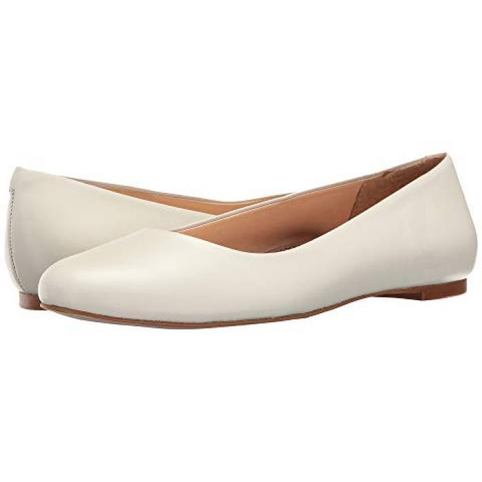 ウォーキング 白 ホワイト レディース 女性用 バレエシューズ レディース靴 【 WALKING CRADLES BRONWYN WHITE 】
