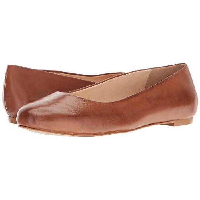 ウォーキング ラゲッジ ソフト マイア レディース 女性用 靴 バレエシューズ 【 WALKING CRADLES BRONWYN LUGGAGE SOFT MAIA 】