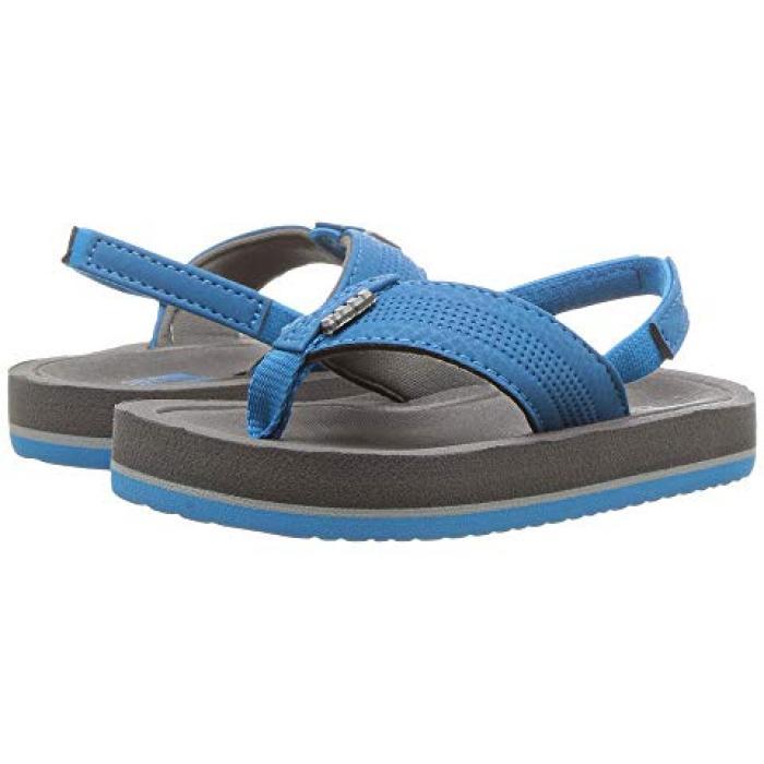 【エントリーで全商品ポイント10倍1/9 20:00-1/16 01:59迄】スプラッシュ 子供用 ビッグキッズ マタニティ 靴 【 REEF KIDS GROM SPLASH INFANT TODDLER GREY BLUE 】