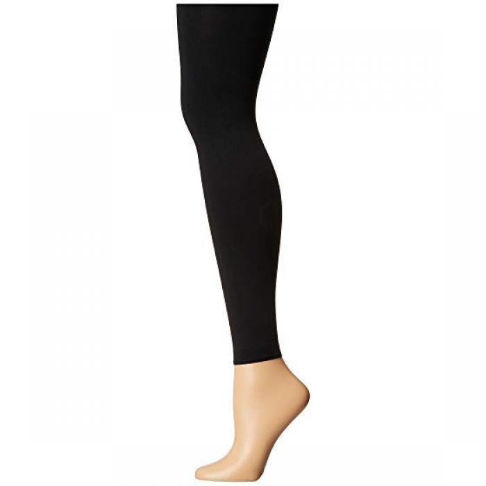 ピュア マット レギンス パンツ 黒 ブラック レディース 女性用 下着 レディース靴下 【 BLACK FALKE PURE MATT 100 LEGGINGS 】