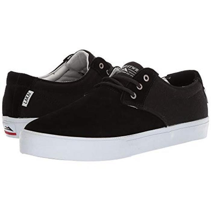 ラカイ 黒 ブラック スエード スウェード メンズ 男性用 靴 メンズ靴 【 BLACK LAKAI DALY SUEDE 3 】