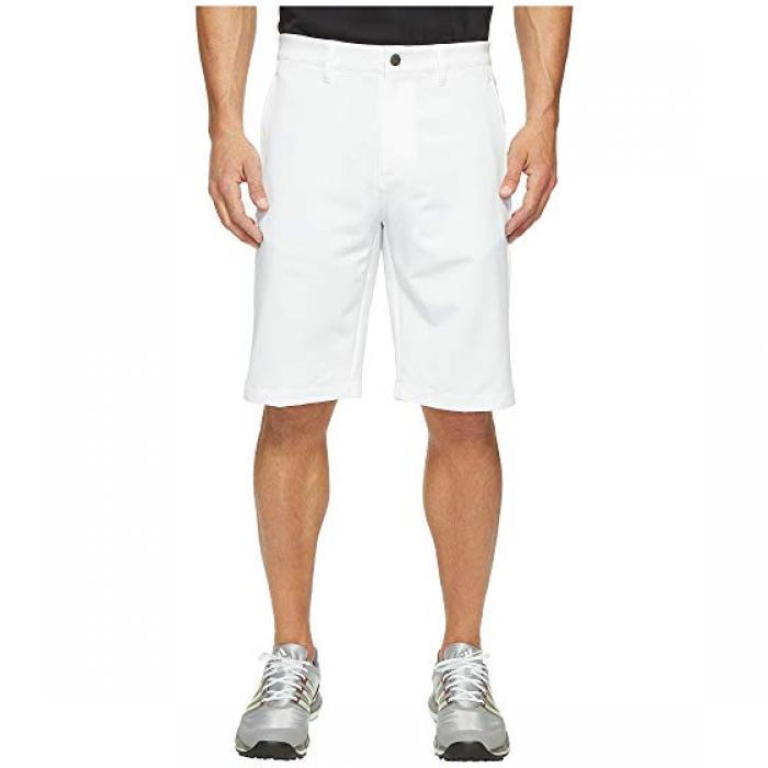 アディダス ゴルフ アルティメイト ショーツ GRAY灰色 グレイ メンズ 男性用 メンズファッション ズボン 【 ADIDAS GOLF ULTIMATE GREY 365 3STRIPES SHORTS WHITE MID 】