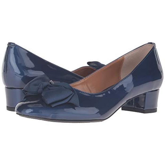 カメオ 紺 ネイビー J. レディース 女性用 靴 パンプス 【 NAVY RENEE CAMEO 】