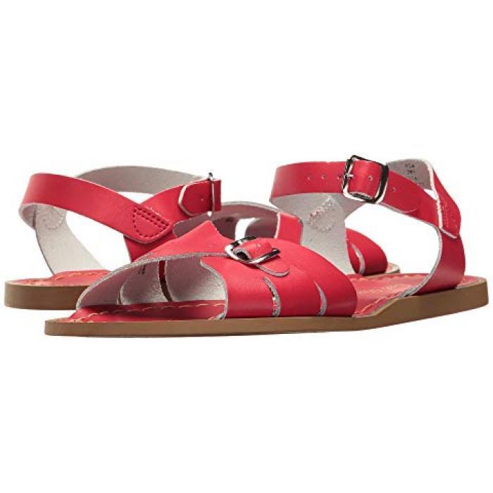 【エントリーで全商品ポイント10倍1/9 20:00-1/16 01:59迄】ソルト ウォーター サンダル シューズ 運動靴 クラシック 赤 レッド 子供用 ビッグキッズ 靴 【 SALT WATER SANDAL BY HOY SHOES CLASSIC ADULT RED 】