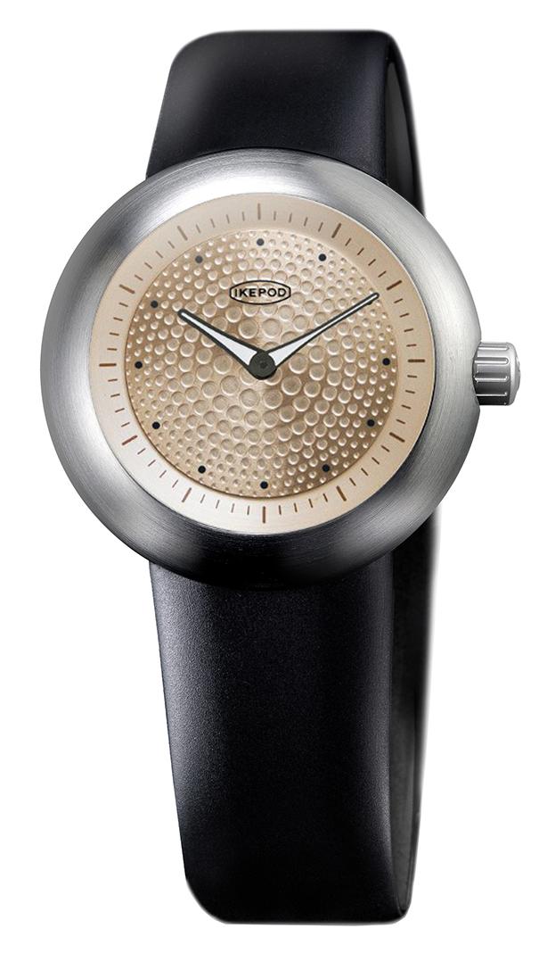 IKEPOD アイクポッド Duopod デュオポッド 003 Gold Dots メンズ 腕時計 ブランド スーツ ビジネス ゴールド ブラック シルバー IPC003SILB エマニエル ギョエ マーク ニューソン シリコンベルト プレゼント ギフト クリスマスプレゼント ギフト お祝い