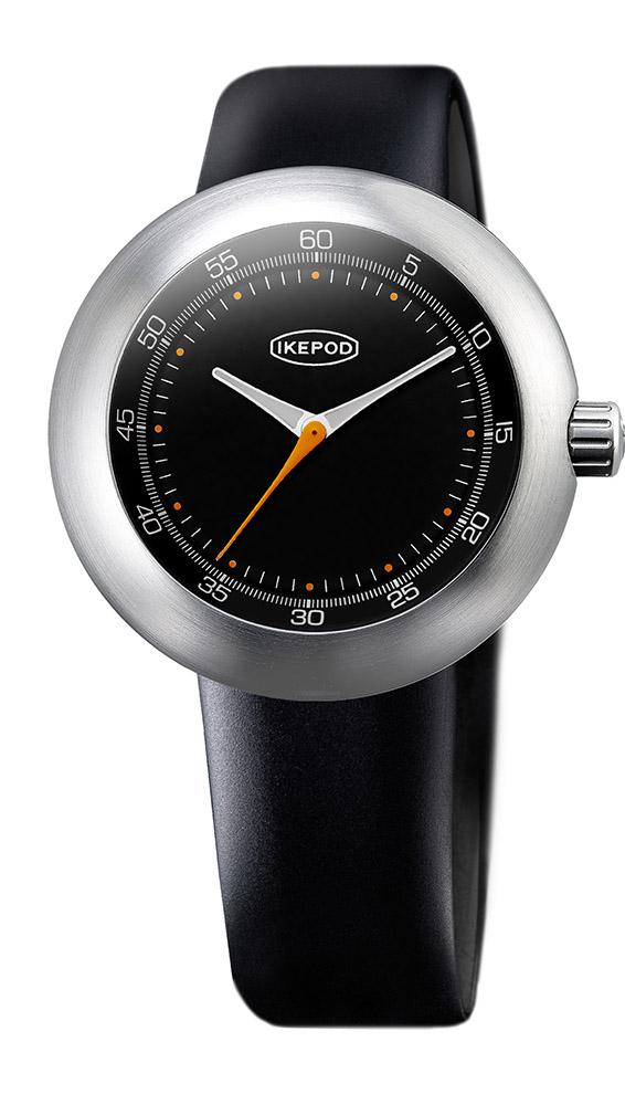 【先行予約受付中】【2020 新作】IKEPOD アイクポッド メガポッド Megapod 001 Dieter 腕時計 メンズ ビジネス スーツ ブラック ネイビー 黒 シルバー オレンジ IPM001SILB マーク ニューソン シリコンベルト