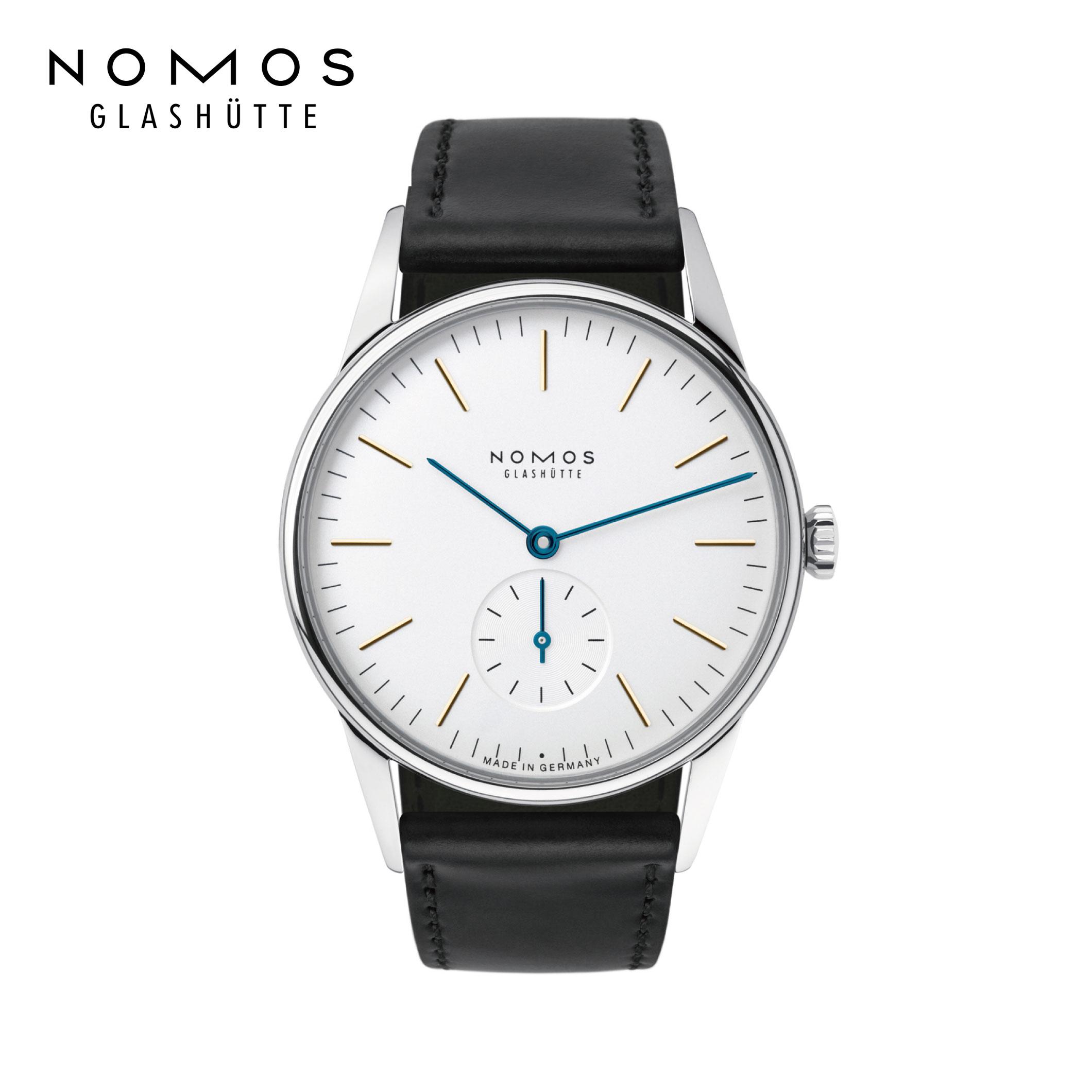 ノモス 正規輸入元直販 送料無料 定番 OR1A3GW2 ノモスグラスヒュッテ オリオン NOMOS 手巻き 新生活 tte Glash 35mm Orion 機械式腕時計 新作アイテム毎日更新 ドイツ製