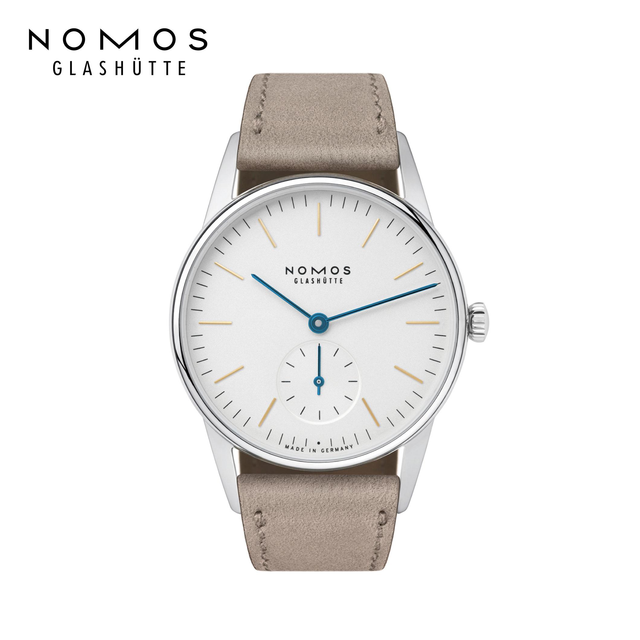 半額 ノモス 正規輸入元直販 送料無料 定番 OR1A3GW233 ノモスグラスヒュッテ オリオン33 NOMOS Glash 33mm Orion33 ドイツ製 中古 手巻き 機械式腕時計 tte