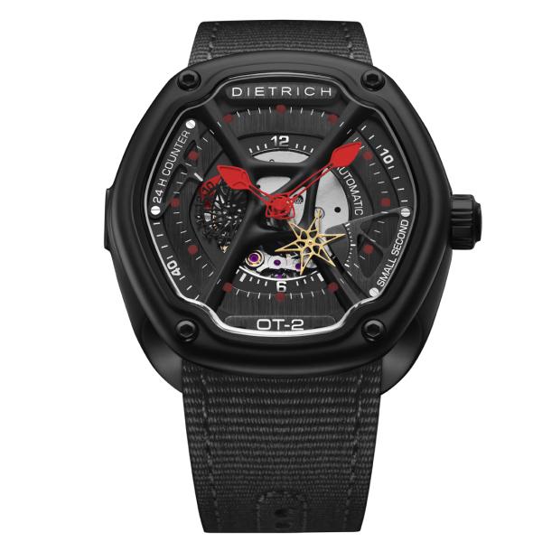 父の日 メンズ腕時計 スポーツ ラグジュアリー ブラック 正規品 送料無料 TIME-2 DIETRICH 2020 新作 高い素材 オーガニックタイム-2 正規代理店 ディートリッヒ ORGANIC メーカー2年保証