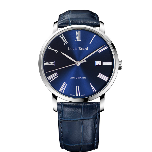 Louis Erard ルイ エラール ルイエラール Excellence 3Hands with Navy-Blue Japan Dial~3針日付つき~ LE68233AA05BDC37