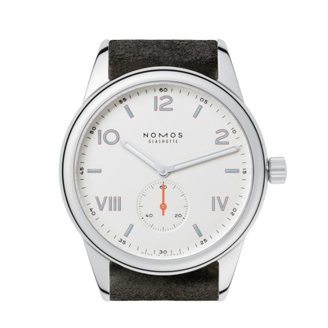 NOMOS Glashuette Club Campuss 38 WHITE(クラブ キャンパス 38 ホワイト)