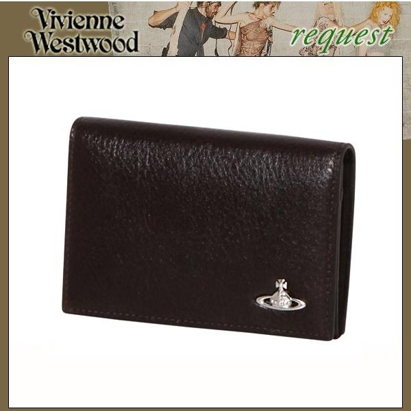 ヴィヴィアンウエストウッドマン メンズ 展示品箱なし 紳士 二つ折り財布 Vivienne Westwood MAN 33382231 財布 茶系