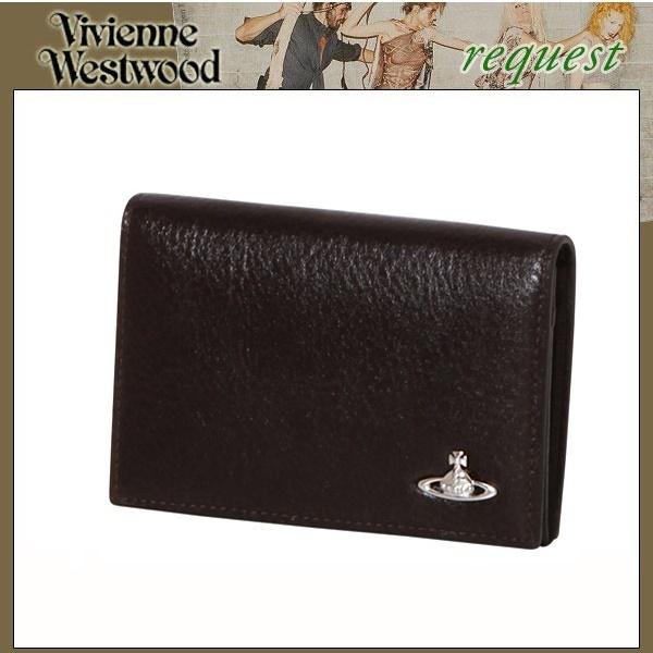 ヴィヴィアンウエストウッド Vivienne Westwood メンズ 財布 ORBスタンダード 二つ折り財布 ブラウン