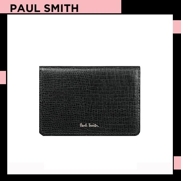 ポールスミス Paul Smith レディース 財布 リザードエンボス 定期入れ パスケース ブラック 送料無料 代引き料有料 消費税込