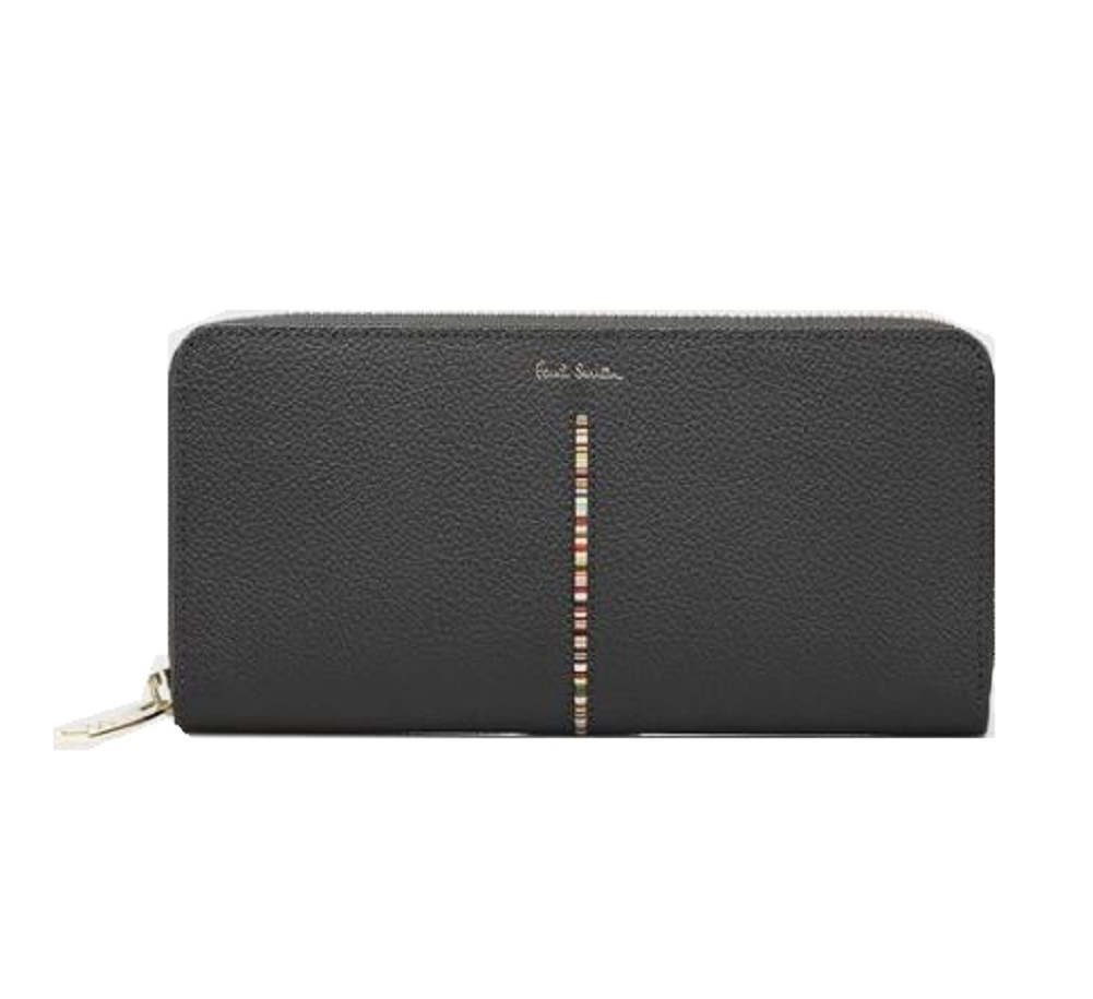 ポールスミス Paul Smith 財布 インセットマルチストライプ ラウンドジップ 長財布 全3色 送料無料 代引き料有料 消費税込