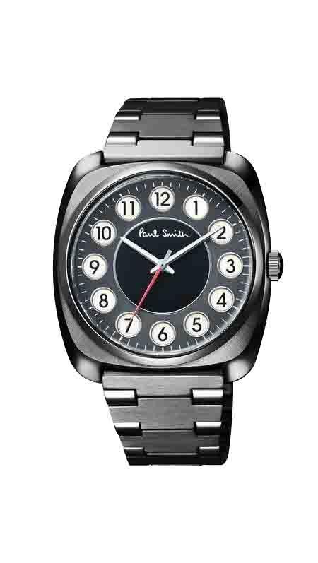 ポールスミス Paul Smith メンズ Dial レザー メンズウォッチ 腕時計 時計 ブラック 限定商品