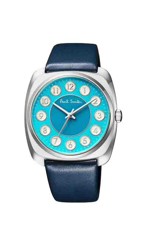 ポールスミス Paul Smith メンズ Dial レザー メンズウォッチ 腕時計 時計 ブルー